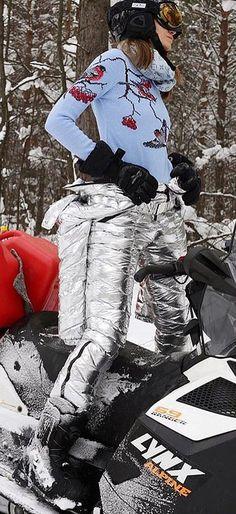 odri silver unzipped | skisuit guy | Flickr