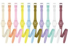 Swatch Lady Collection - I want the nude one. :) :)