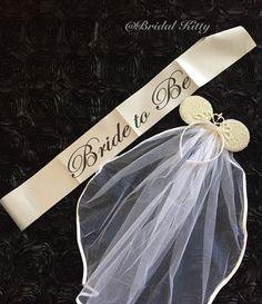 Disney Wedding Minnie Mouse Ears Crown Tiara, Disney Bachelorette Party Veil & Sash, Minnie Mouse Tiara Headnand, Disney Bridal Shower Theme
