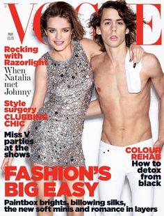 Natalia Vodianova by Mario Testino Vogue UK May 2007