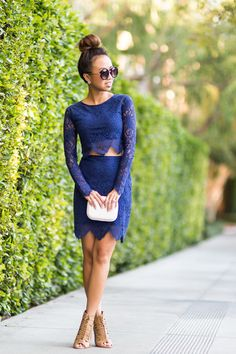 petite fashion blog, lace and locks, los angeles fashion blogger, for love and lemon lace, two piece lace set, revolve clothing, date night looks, streetstyle, outfit of the day