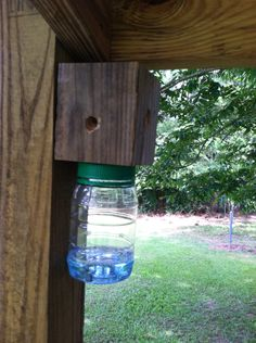 This is the best carpenter bee catcher.  I've tried several others, but this is my best model yet.