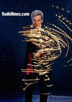 Doctor Who Christmas: Peter Capaldi Radio Times shoot