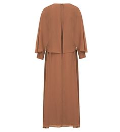 Soft Cinnamon Cape Maxi Dress - £59.90 : Inayah, Islamic Clothing & Fashion, Abayas, Jilbabs, Hijabs, Jalabiyas & Hijab Pins