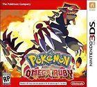 Pokemon Omega Ruby (Nintendo 3DS 2014)