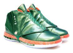 "Air Jordan 10 + 16 ""Christmas"" PEs for Ray Allen - SneakerNews.com"