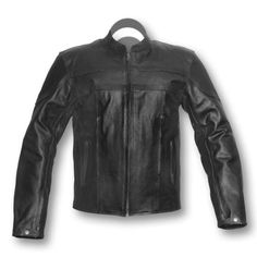 This black motorbike safety jacket is a perfect choice of bike riders for adventure touring and on road bike riding with maximum protection and road safety, with ultimate quality without hurting your pocket. This bike rider's leather jacket comes with excellent features of air ventilation, removable quilted lining, separate mobile... Leather Jacket, Best Motorbike, Bike Rider, Jacket Style, Leather Fashion, Casual Looks, Air Ventilation, Black Leather