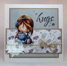 Tiddly Inks Challenge: Challenge #147: Get the Happy Winter Blues......