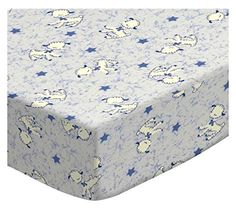 SheetWorld Fitted Bassinet Sheet  Baby Lambs  Made In USA * Details can be found by clicking on the image.