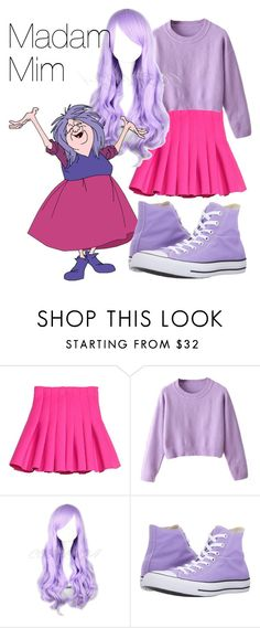 """Madam Mim"" by ramirez-coimbra ❤ liked on Polyvore featuring Converse"