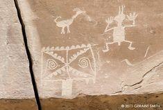 Petroglyphs, Chaco Canyon, NM