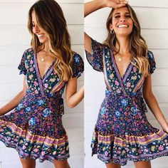Plenty of NEW ARRIVALS coming your way today. 🙊💕 So many pretty new print. Sun sun dresses plus size sun dresses with sleeves sundress outfits sundresses dresses sundresses for weddings dresses sundresses Wedding Invitations Trends 2019 Boho Outfits, Fashion Outfits, Womens Fashion, Ladies Fashion, Woman Outfits, Fashion Ideas, Casual Outfits, Bohemian Mode, Bohemian Style