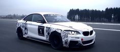 Premiers tours de roues pour la BMW M235i Racing