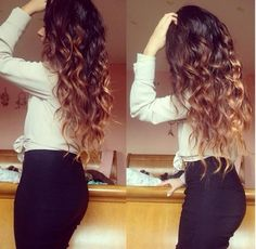 This is how long I want my hair when it is curled :)