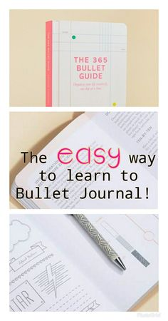 Just one easy lesson every day and I'll finally get in the habit and get organized #journalideas #affiliatelink #journaling #notebook #listersgottalist #bulletjournaling #bujo #bujolove #bujojunkies #bulletjournal #bujoinspire | bullet journal ideas | bullet journal layout | bullet journal inspiration | bullet journal supplies | bullet journal setup | bullet journal pages | bullet journal key | bullet journal minimalist | bullet journal collections