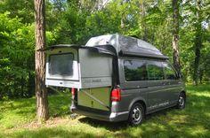 VW T5 Campingbus - Bettmobil mit ausziehbarem Bett