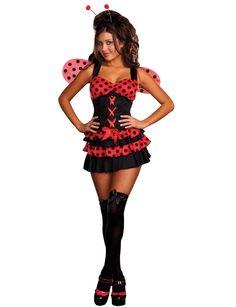 Lovely Ladybug Costume < Sexy Costumes