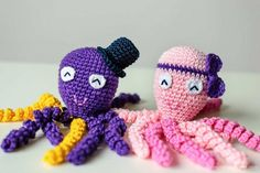Free Amigurumi Patterns Octopus : Octopus for a preemie free crochet pattern what a great idea