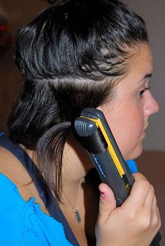 How to Curl Your Hair With a Flat Iron - Revised and Improved! - All