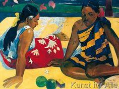 Paul Gauguin - Due donne a Tahiti