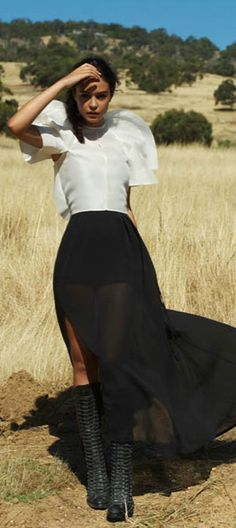 top.. Not So Casual but The Skirt and Boots LOVE!!
