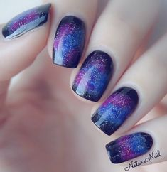 Galaxy-Inspired Blue