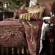 marie antoinette bedding | bedding ensemble, the Glenaire bedding collection by Veratex Bedding ...