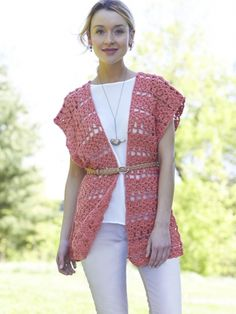 Crochet Short Ruana | Yarn | Free Knitting Patterns | Crochet Patterns | Yarnspirations