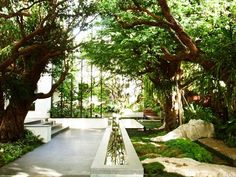 What Lies Behind the High Concrete Wall and Gate of T. Residence in Bangkok?