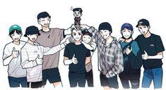 come back safe, healthy and bappy kyungsoo-yah Kyungsoo, Exo Chanyeol, Exo Cartoon, Exo Anime, Fanart Bts, Chibi Wallpaper, Exo Group, Exo Fan Art, Exo Lockscreen