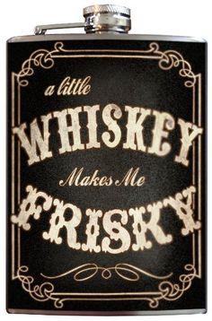 Trixie & Milo Whiskey Frisky Flask (Black) Trixie & Milo http://www.amazon.com/dp/B00A6GPZ44/ref=cm_sw_r_pi_dp_c4sfub03NW6VY
