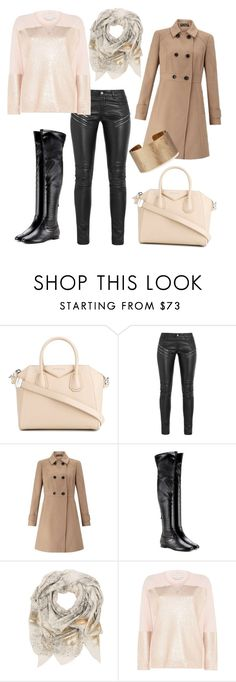 """""""elegant outfit"""" by kaja-232 ❤ liked on Polyvore featuring Givenchy, Yves Saint Laurent, Miss Selfridge, Aquazzura, Sophie Darling, STELLA McCARTNEY and Panacea"""
