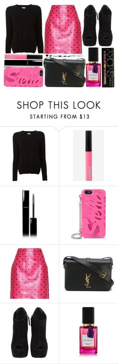 """street style"" by sisaez ❤ liked on Polyvore featuring Étoile Isabel Marant, Express, Chanel, STELLA McCARTNEY, Yves Saint Laurent, Giuseppe Zanotti and Diana Vreeland Parfums"