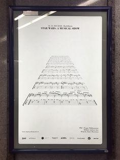 "Case: StarWars 映画音楽の祭典""Film Music Prague""が、2015年12月22日にチェコで開催する「STAR WARSミュージカルショー」を告知するために実施した屋外広告"