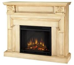 Real Flame Kristine Electric Fireplace….qvc