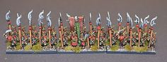 10mm Evil Men of the East - Manufactured and painted by Tajima1 Miniatures - For sale.