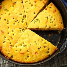 Jalapeno Buttermilk Corn Bread Recipe -If you're from the South, you have to have a good corn bread recipe. Here's a healthier version of my mom's traditional corn bread. —Debi Mitchell, Flower Mound, Texas