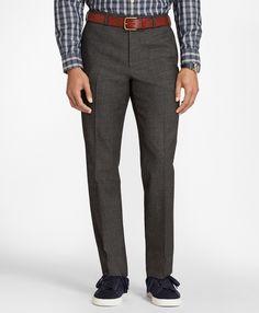 Essential Grey Wool Trousers