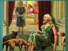 Dog in rich man's house had a better life than Lazarus but guess who went to heaven? Father Abraham, Book Of Genesis, Blessed Are Those, Kingdom Of Heaven, Rich Man, Bible Stories, Good Thoughts, Better Life, Word Of God