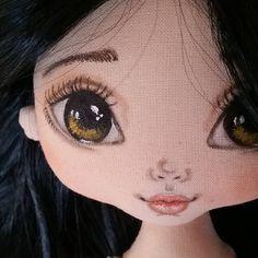 "428 Likes, 42 Comments - VikTORRYa. Dollmaker.. (@torrytoys) on Instagram: ""Давно не было брюнеток... пора исправляться)) #torrytoys #процессторри #кукларучнойработы…"""