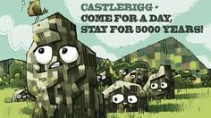 Castlerigg Day Out by Jonathan Edwards - Lakes International Comic Art Festival