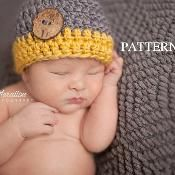 The Ethan Hat - via @Craftsy