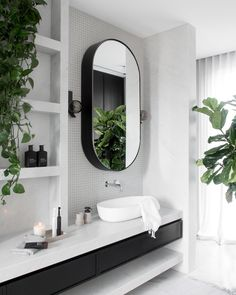 Bathroom + Modern Bathroom + Bathroom Design + Black and White Bathroom Bad Inspiration, Bathroom Inspiration, Beautiful Bathrooms, Modern Bathroom, Moroccan Bathroom, Bathroom Black, Minimalist Bathroom, Bathroom Interior Design, Interior Decorating