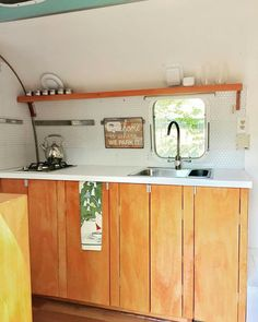 Our kitchen reno in the airstream argosy.  Almost ready for our road trip  - the great Western adventure! @shawnamjackson