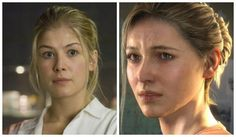 Uncharted movie cast elena fisher actor rosamund pike