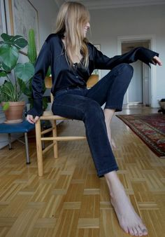 Lisa wearing Filippa K AW16