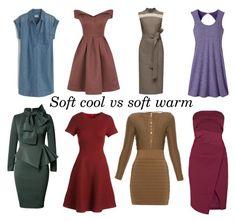 Soft cool vs soft warm by glirendree on Polyvore featuring moda, Balmain, Lela Rose, Lattori, C/MEO COLLECTIVE, Chi Chi, J.Crew and prAna