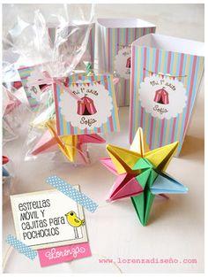 Lorenza Diseño: Souvenirs para Primer Añito en Origami!   LORENZADISEÑO.COM