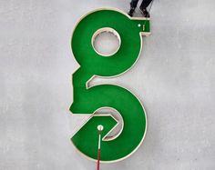 Typographic miniature golf course by Ollie Willis • Design Father