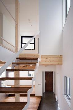 白壁の家・間取り(大阪府東大阪市) | 注文住宅なら建築設計事務所 フリーダムアーキテクツデザイン